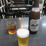 会津喜多方ラーメン 坂内 - ビール