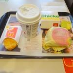 マクドナルド - ソーセージエッグマフィンセット+チキンナゲット