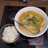 麺屋すみか - 料理写真:こっさり胡麻らーめん お茶漬け風ランチ