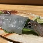 墨や - 料理写真:泳ぎ烏賊刺し