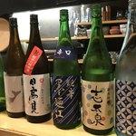 墨や - この日の日本酒