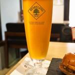 ドラゴンバーガー - ミニバーガー3個セット(クラフトビール「496」)