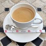 パスティチュリア・デリチュース  - ホットコーヒー