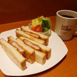 カフェ カリオカ - カツサンド