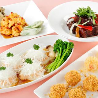 お食事会や接待にも使える、お得なコース料理