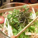 魚がし日本一 - 山芋サラダ