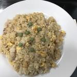 なみき食堂 - 焼き飯  540円  懐かしいグリーンピース マジ美味い