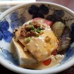 墨花居 - 野菜と豆腐の担々ソース