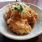 墨花居 - 鶏カラおろしポン酢