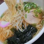 かるもラーメン - 料理写真: