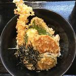 さぬき純手打ちうどん弌條製麺 - 天丼ランチ300円
