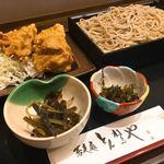 そば処 とんねるや - 料理写真:鶏唐揚げセット(ご飯なし)1050円
