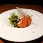 豚美 - ☆完熟トマトのサラダ(^^♪☆