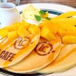 LOCAL CAFE - マンゴーパンケーキ