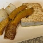 彩 - 長芋、カボチャ、豆腐