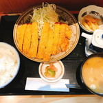 丸安食堂 - 山原豚 とんかつ定食(700円)