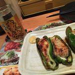 鳥貴族 - 日本酒&肉詰めピーマン