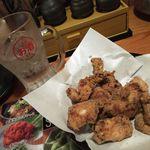 鳥貴族 - たんたかたん炭酸割り&鶏唐揚げ