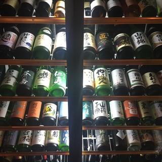 全国47都道府県の日本酒50種以上ございます!!