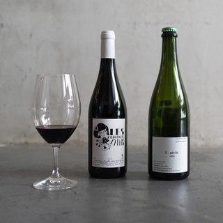自然派ワインを料理に合わせていろいろ楽しめます