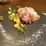 Blanco - スペイン産栗豚肩ロースのステーキ