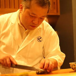 西洋料理から日本料理の道へ。大阪の割烹との出会いが岐路に。