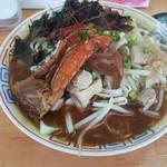 麺屋十郎兵衛 - 今週の限定「渡り蟹と背脂の味噌拉麺」(2018年6月20日)