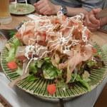 竹乃屋 - パリパリごぼうサラダ