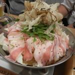 竹乃屋 - 豚鍋