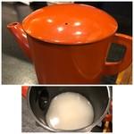 手打そば 一の梅 - 蕎麦湯は濃厚