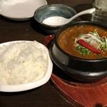 赤い壺 - 麻婆豆腐