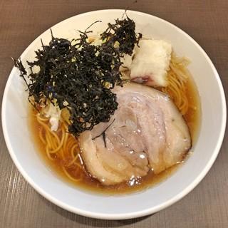 麺屋りゅう - 料理写真:醤油らーめん 大盛(鶏 × 白身魚のアラ × ハモのアラ)