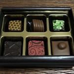 ティカール バイ カカオマス - チョコギフトBOX(6P)
