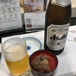 美登利総本店 - 瓶ビール 550円