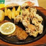 マルゲリータ姫 - 料理写真:レモンステーキ&ジューシー唐揚げアップ