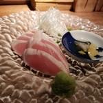 Yakitorisuehirogari - 笹身のたたき