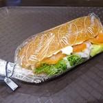 87929794 - ディルサーモン&クリームチーズ サンドイッチ