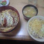 福寿庵 - カツどんとミニ蕎麦