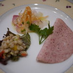 Trattoria Serena - 前菜3種