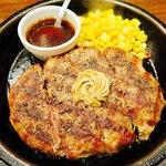 いきなりステーキ 恵比寿店 - ワイルドハンバーグ