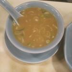 87931700 - チャーハンのスープ