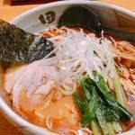 麺処 田ぶし - 本家 田ぶしらーめん750円(税込み)大盛り無料 大盛りは結構量ありますよ!