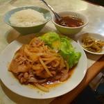水新菜館 - 焼肉定食