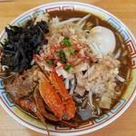 麺屋十郎兵衛 - 〝今週の限定〟渡り蟹と背脂の味噌拉麺