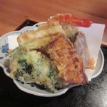 先斗 浅草 - 天ぷら盛り