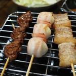 串ザンマイ - 串盛りその1
