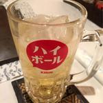 神戸 こも亭 - ハイボール