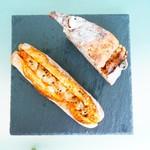 ROUTE271 - 右上:パンメランジェ、左下:鯖のラグー