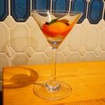 ビストリア 魚タリアン - アジのマリネと彩りトマトのカクテル仕立て