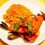 ビストリア 魚タリアン - オマール海老のペスカトーレ